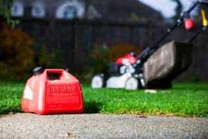 Storing lawn equipment: use a fuel stabilizer