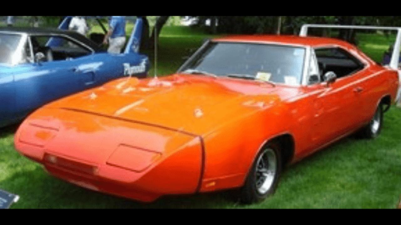 The Best In Nascar History 1969 Dodge Charger Daytona Gold Eagle Co