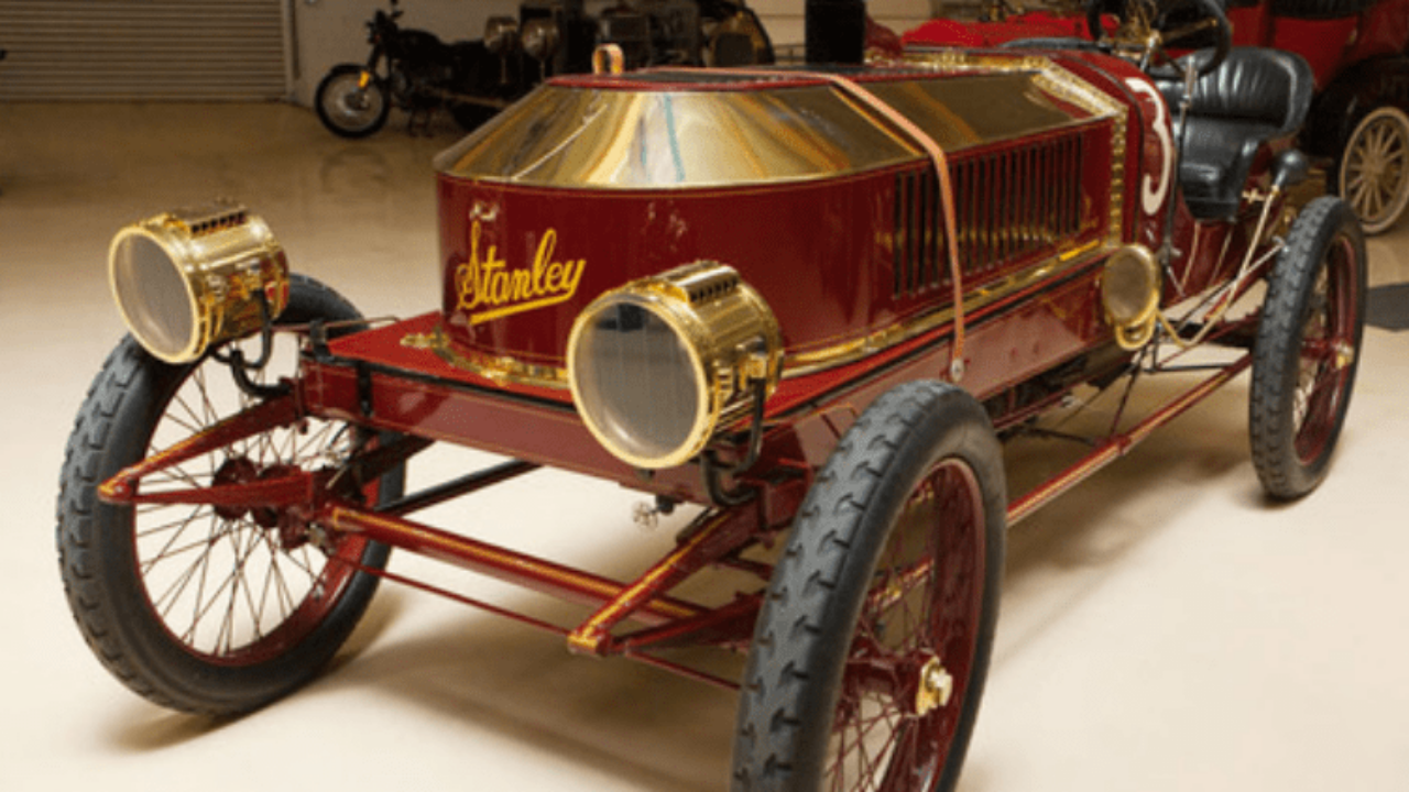 Stanley Steamer Car >> Jay Lenos Garage 1909 Stanley Steamer Gold Eagle Co