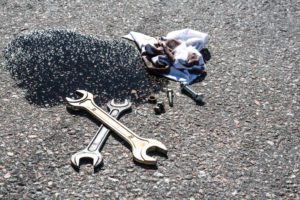 How to fix car leaking oil or an oil pan leak