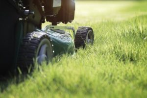 Check out this article on how to change the oil in a lawnmower