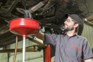 An engine oil flush can help keep your engine running efficiently and without issue.