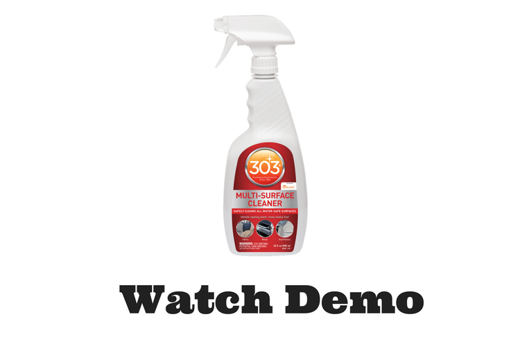 All-in-One Multi-Surface Vehicle Cleaner from 303   Gold