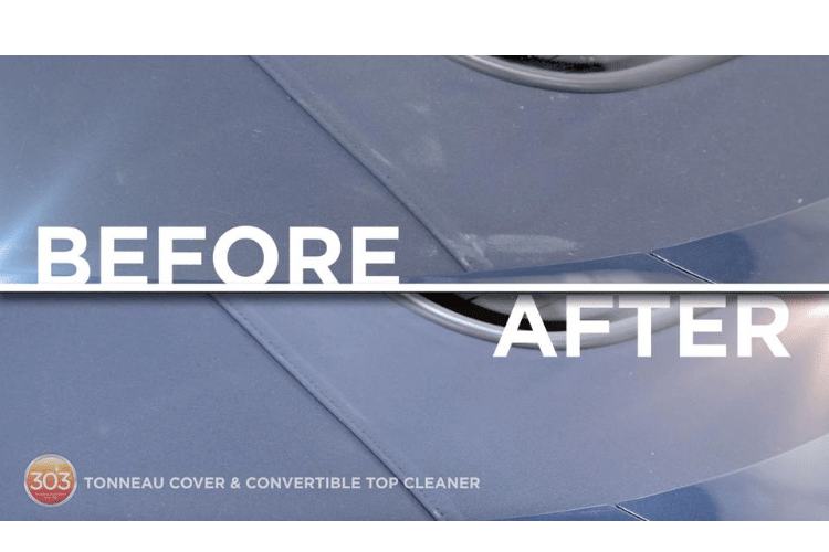 30571csr 303 automotive tonneau cover and convertible top cleaner before and after min