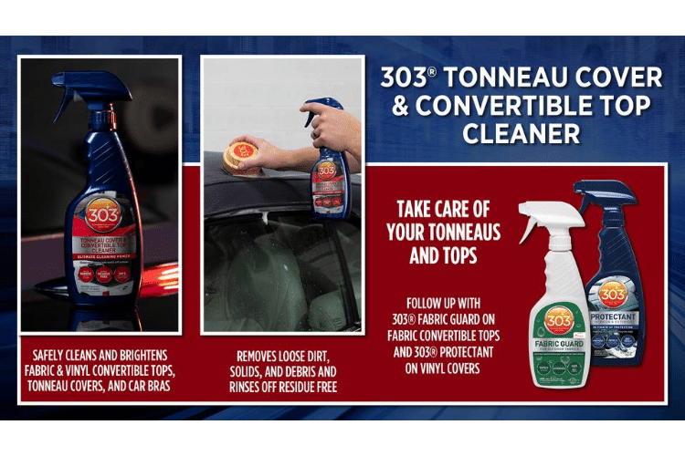 30571csr 303 automotive tonneau cover and convertible top cleaner infographic min