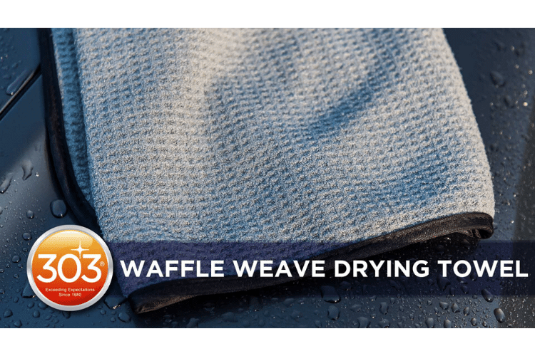 39015 303 waffle weave drying towel videocover min