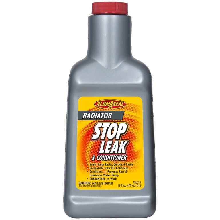 Alumaseal Radiator Stop Leak is an effective product to use for radiator leak issues.
