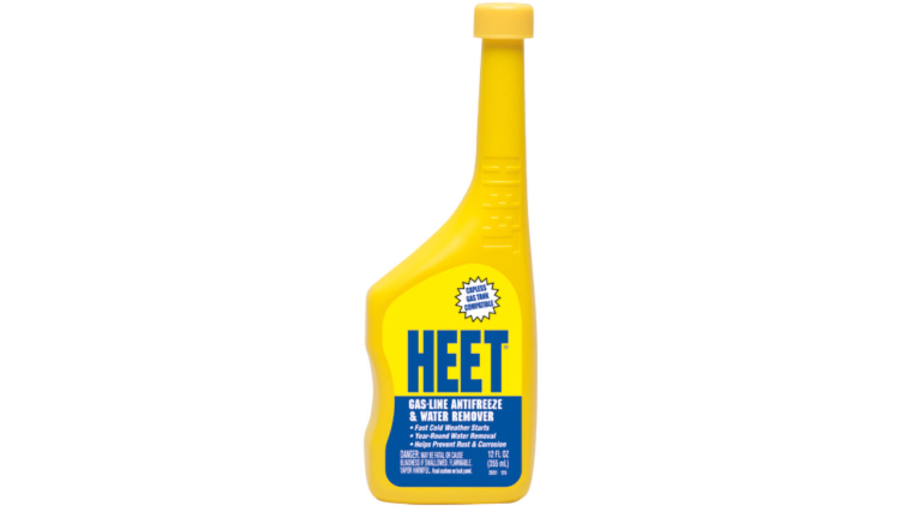 HEET® Gas-line Antifreeze & Water Remover