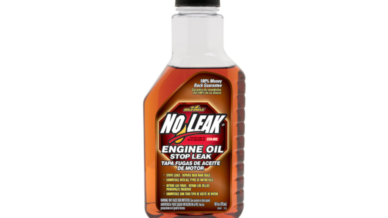 Oil Leak Repair >> No Leak Engine Oil Stop Leak