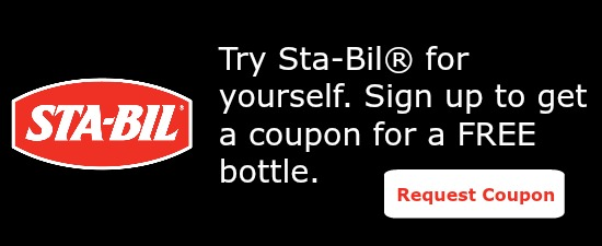 Try a free bottle of sta-bil today.