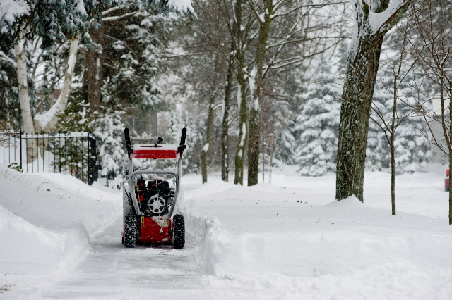 Follow these steps to maintain your snow blower.
