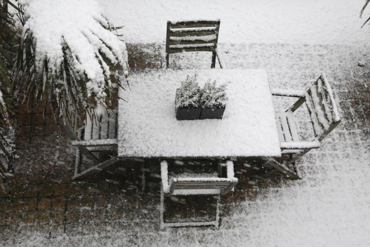 Winterize your patio so you're able to enjoy it with ease next spring.