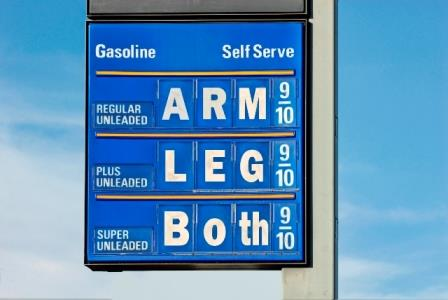 Gas prices cost an arm and and a leg, or both. Gas additives don't.