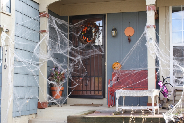 Decorated Home For Halloween