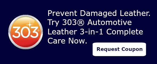 Prevent the need for car leather repair with 303 Leather Complete Care.