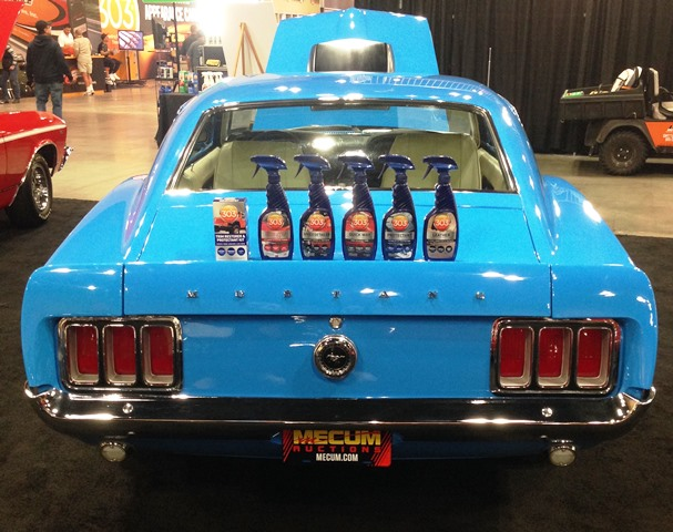 303 offers an entire line of professional detailing products, specifically designed to keep your muscle car looking great, all the time!