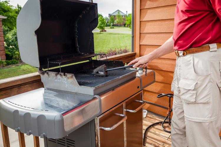 Follow these steps to clean your grill for barbque season