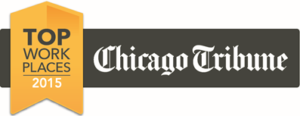 Chicago Tribune Top Work Places 2015