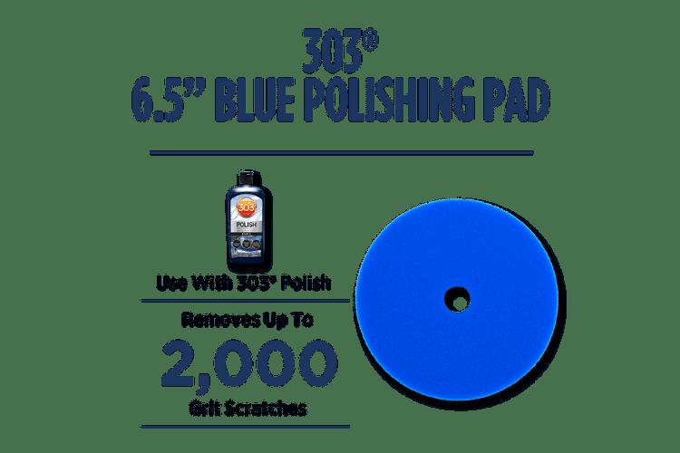 39021 303 Blue Polishing Pad Enhanced min