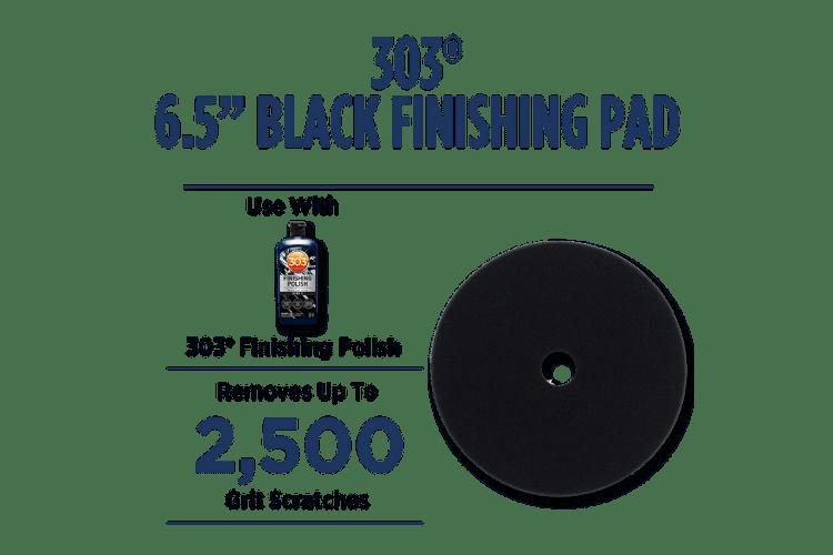 39022 303 Black Finishing Pad Enhanced min