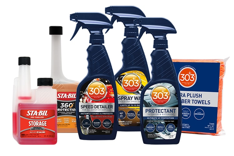 STABIL Show Car Collection Gold Eagle Co - Show car cleaning products