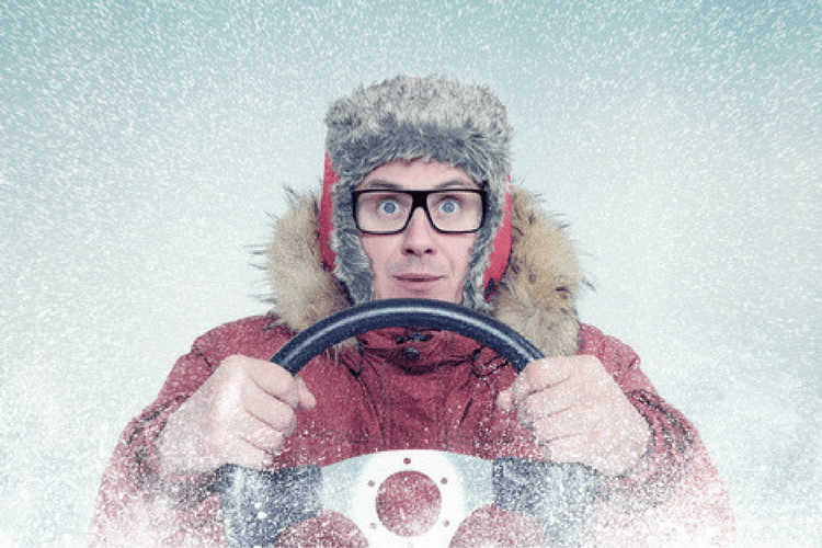 Winterize your car! Top off fluids, check your brakes and tires.