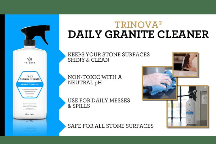 33507 trinova daily granite cleaner infographic min