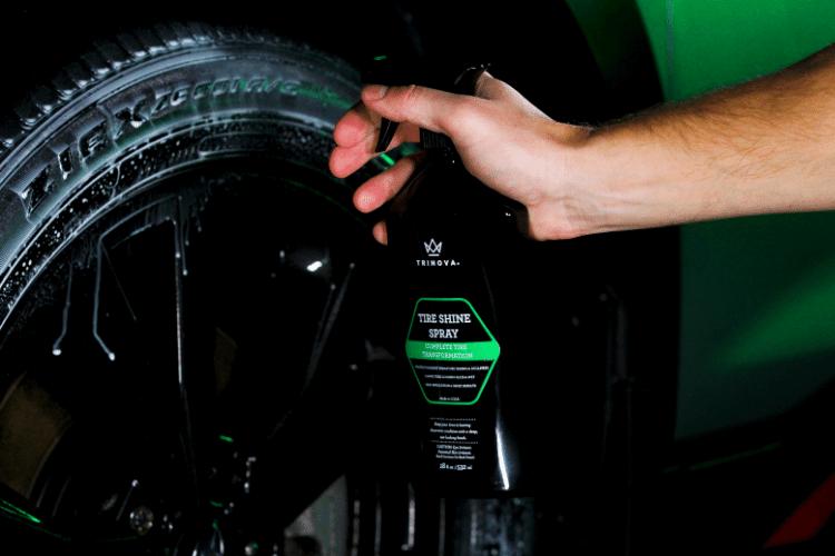 33511 trinova tire shine spray 2 min