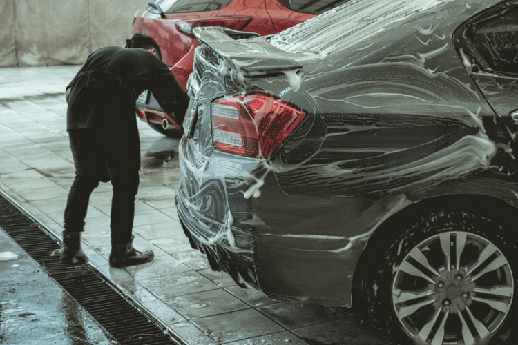 Don't bother with an automatic car wash! Do right by your car with a hand wash with 303 Products.