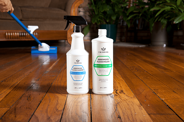 Trinova Hardwood Floor Cleaner Gold