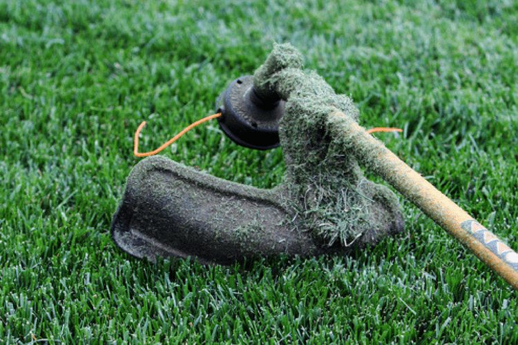 Keep your string trimmer in good shape by following these steps to maintain your lawn equipment.