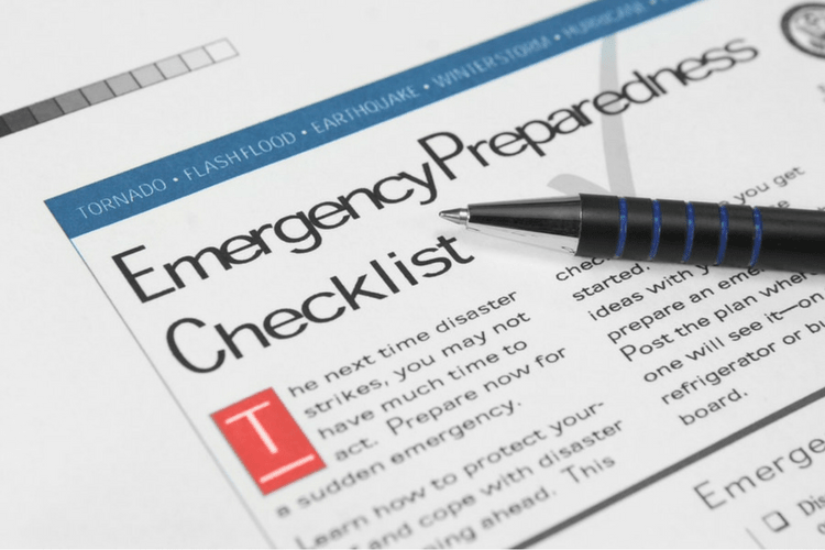 Having a list dedicated to emergency preparedness can help you remember what you need to stay safe.