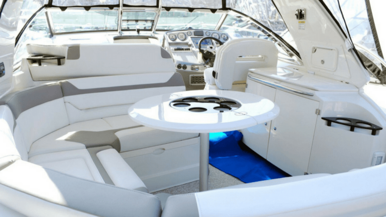 How to Clean a Boat Interior   Gold