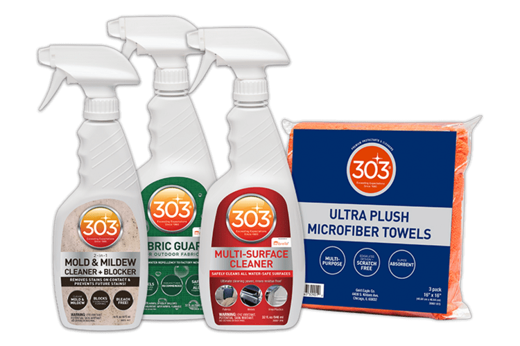 Patio Fabric Cleaning Bundle