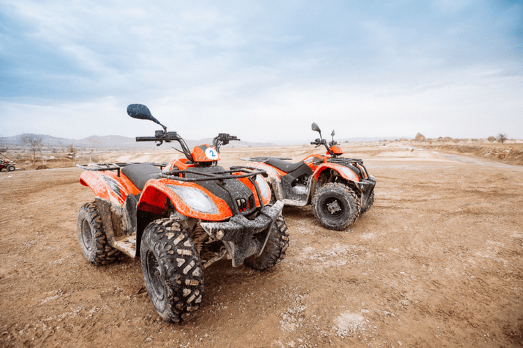 Preventative maintenance will help keep your ATV ready to go for your upcoming adventure.