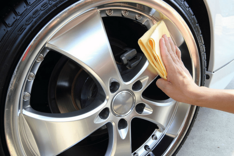 Don't forget 303's Tire Applicators when cleaning your wheels and tires.