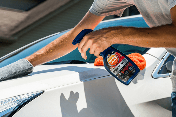 Automotive Exterior Speed Detailer Spray Gold Eagle - Show car ultra shine detail spray