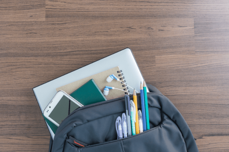 Get started on back to school organizing with these organization tips!