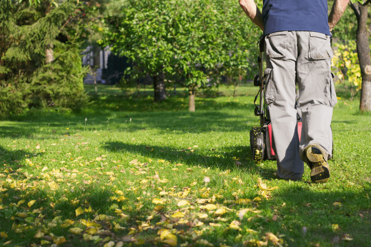 Just because it's fall, doesn't mean your grass has stopped growing! Keep up with your lawnmower's maintenance and store it properly at the end of the season.