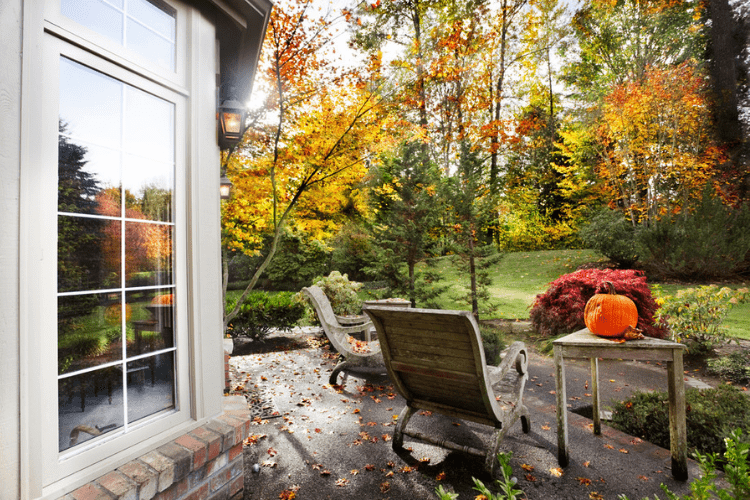 Get cozy on your patio this fall with these tips.