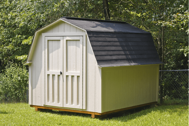 Choose the best storage shed for your small engine equipment.