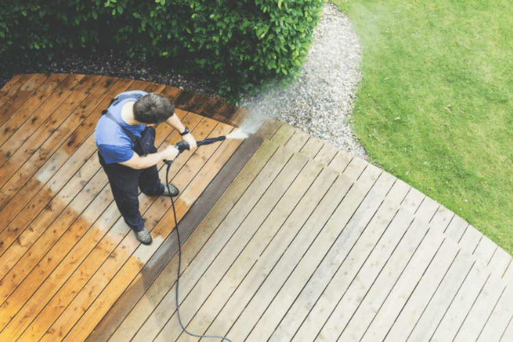 Keep your power washer clean to prevent build up and maintenance issues.