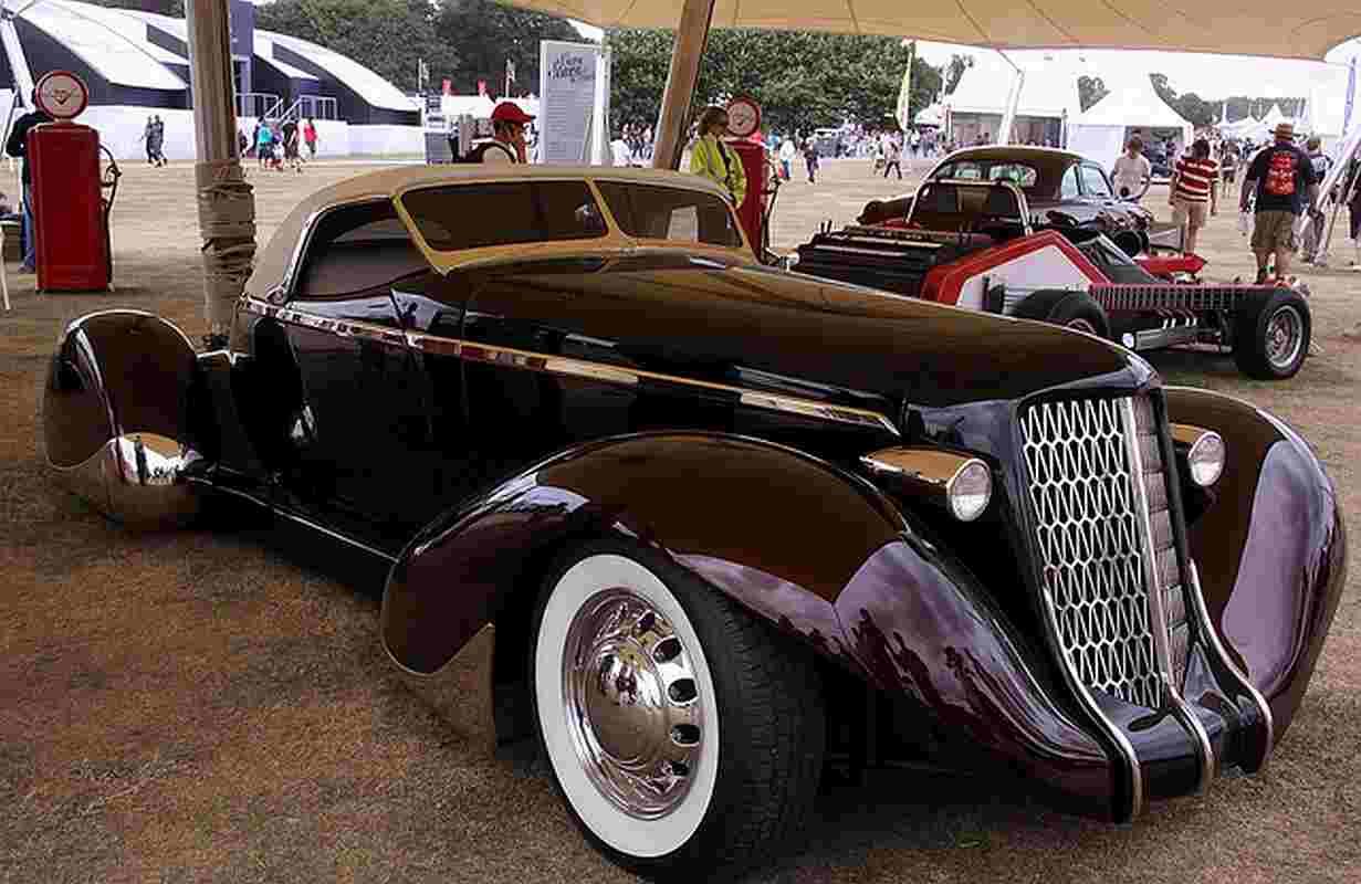 James Hetfield 1936 Auburn Roadster