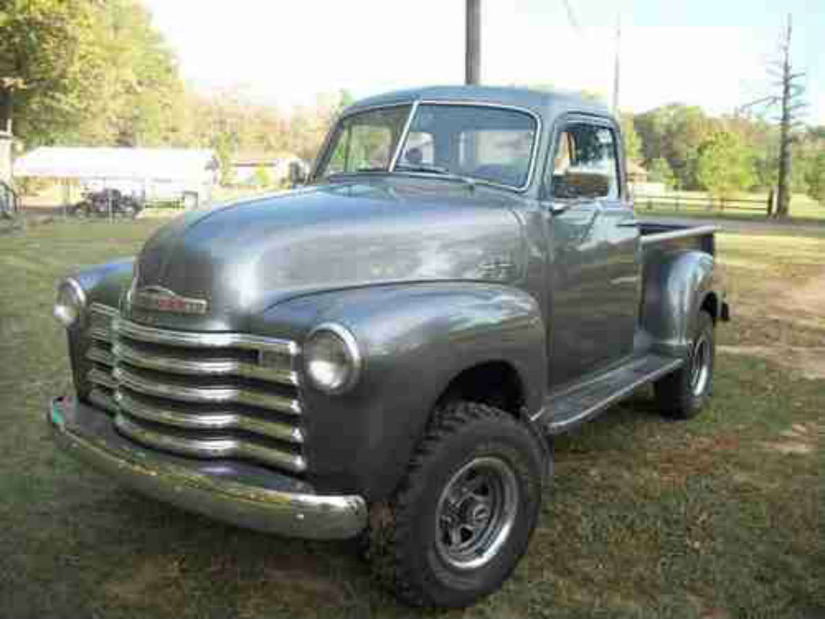 1953 Chevrolet 3100 4x4 | Gold Eagle Co