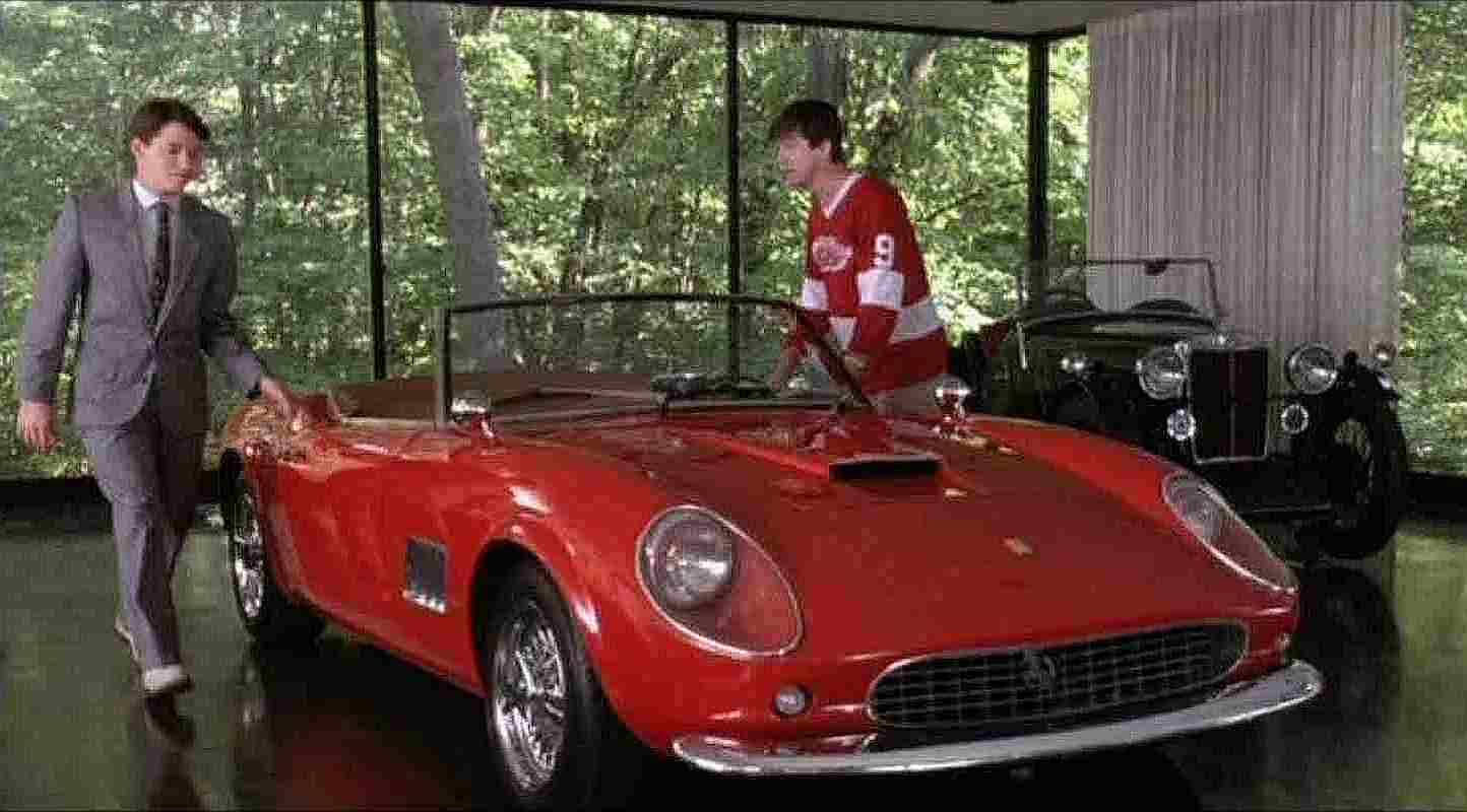 1958 Ferrari 250 Spyder From Ferris Buellers Day Off Gold Eagle Co
