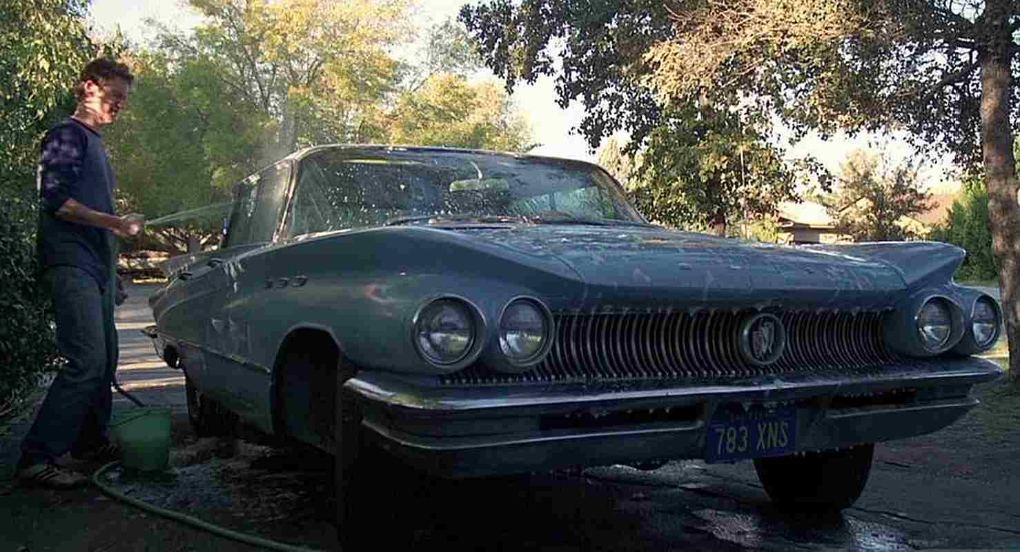 """1960 buick lesabre from """"fast times at ridgemont high"""" - gold eagle"""