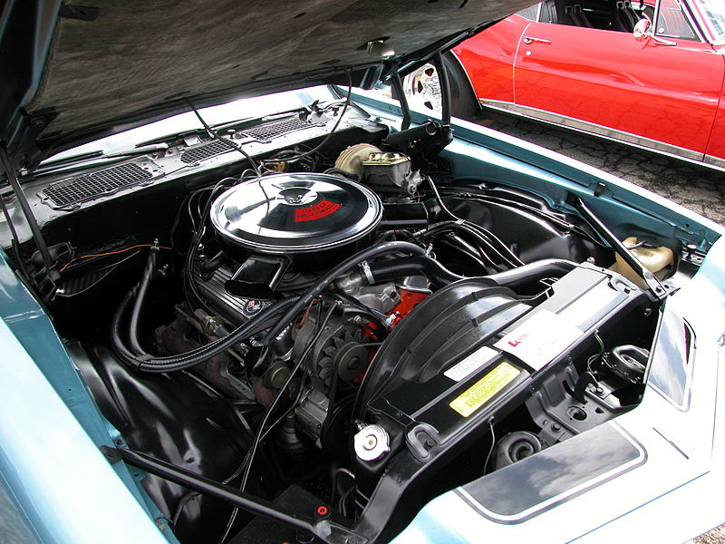 small block oldsmobile deck height