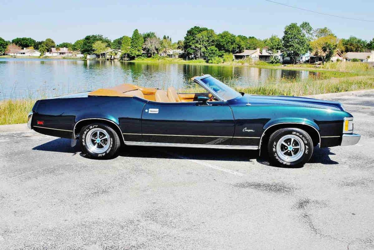 1973 Mercury Cougar XR7 Convertible
