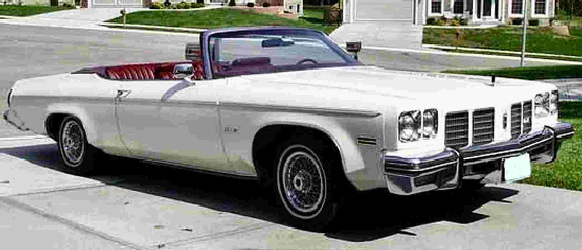 1975 Oldsmobile Delta 88 Royale Convertible