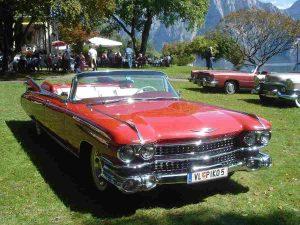Cadillac Eldorado 59 red